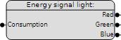 comexio smart home energy signal light 001