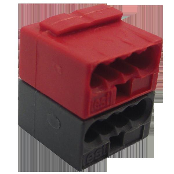 WAGO 243-211 KNX/EIB vezetékösszekötő piros-s.szürke