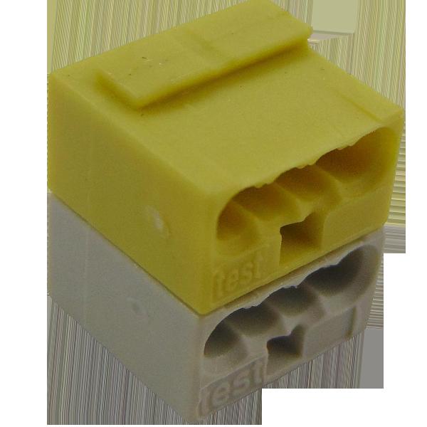 WAGO 243-212 KNX/EIB vezetékösszekötő sárga-szürke