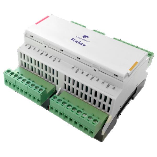 Relay 10 Extension / Relé kiegészítő modul 10 db reléporttal