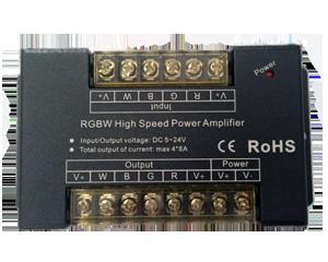 PWM RGBW 4 csatornás LED erősítő , jelerősítő